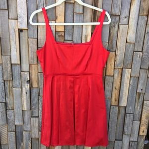 Woman's red dress size 9 junior holiday party